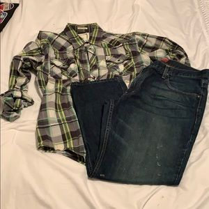 Arizona jeans relaxed straight fit